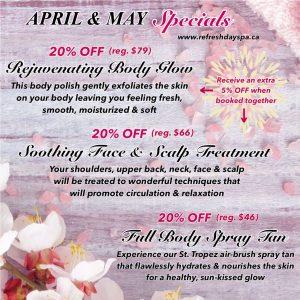 april may specials april egg 39 stravaganza refresh day spa. Black Bedroom Furniture Sets. Home Design Ideas